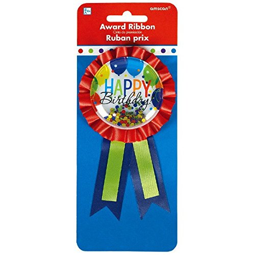 Amscan 210401 Award Ribbon Party Favor, 5 3/4