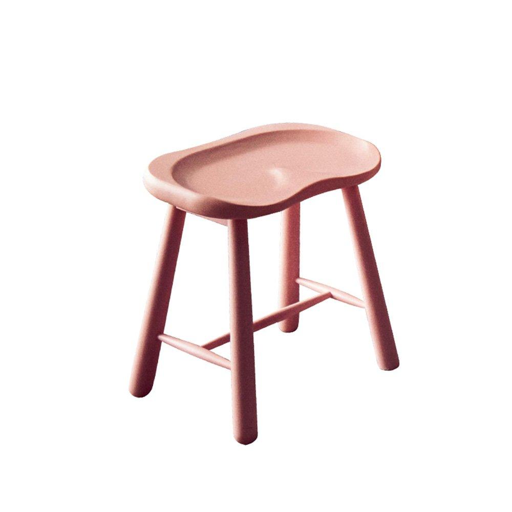 カシオモール近代家具椅子は丈夫で信頼性があります。 彼らはとても快適で強くあります。 家庭用ダイニングスツールメイクスツールクリエイティブなお尻のリビングルーム用多色オプション ( 色 : ピンク ぴんく , サイズ さいず : Height 43cm ) B07BF9HBNZ Height 43cm|ピンク ぴんく ピンク ぴんく Height 43cm