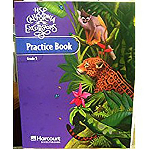 HSP California Excursions Practice Book, Grade 5