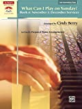 What Can I Play on Sunday?, Bk 6: November & December Services (10 Easily Prepared Piano Arrangements) (Sacred Performer Collections)