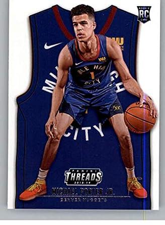new style ab8c6 077d2 Amazon.com: 2018-19 NBA Threads Statement Rookie Card #192 ...