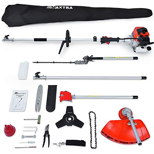 Maxtra Powerful 42.7cc 4 in 1 Trimming Tools, Multi Function