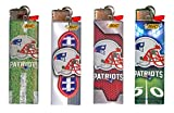 BIC NFL New England Patriots Lighters 2016 Designs