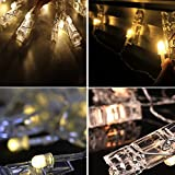 Warmoor 20 LED Photo Clips String Lights, 5M 16ft