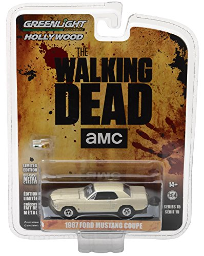 Series Ford Mustang (GreenLight 1:64 Hollywood-the Walking Dead (2010-Current TV Series) -1967 Ford Mustang Coupe Sophia Car with Accessories (44750-E) Die-Cast Vehicle)