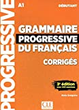 Grammaire progressive du francais - Niveau intermédiaire - Livre + CD + Livre-web - 3eme edition (French Edition)