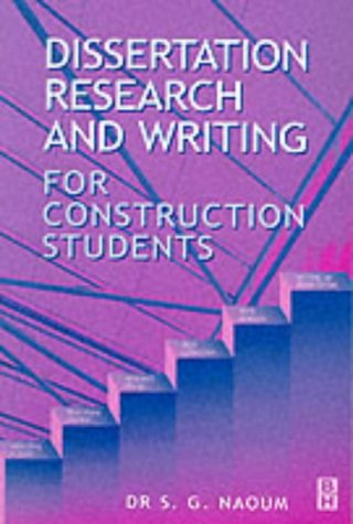 Dissertation research writing for construction students