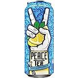 Peace Tea Lemonade& Tea, Caddy Shack, 23 Ounce (Pack of 12)