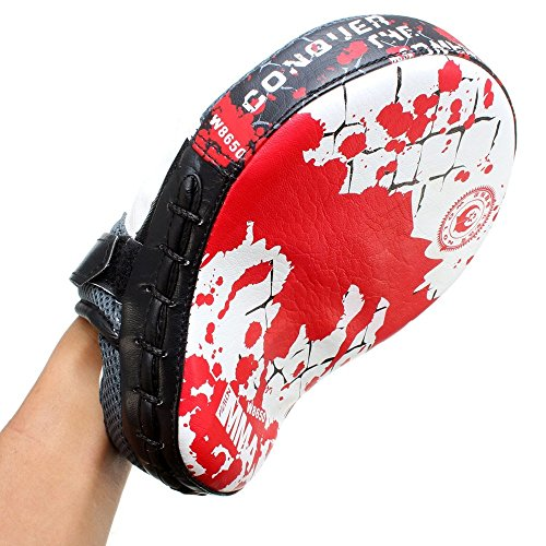 Boxing Mitt Focus Punch Pad Training Glove With Nice Quality. Perfect For Fit Left Hand Or Right by Boxing Punch Mitts