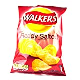Walkers Ready Salted Crisps 12 Pack 300g