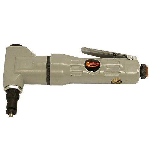 Wild Edge Electric Metal Shear, 5.0 Amp Variable Speed Swivel Head 14 Gauge Electric Metal Shear