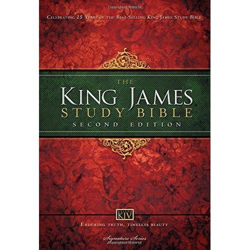 KJV Study Bible Red Letter Edition