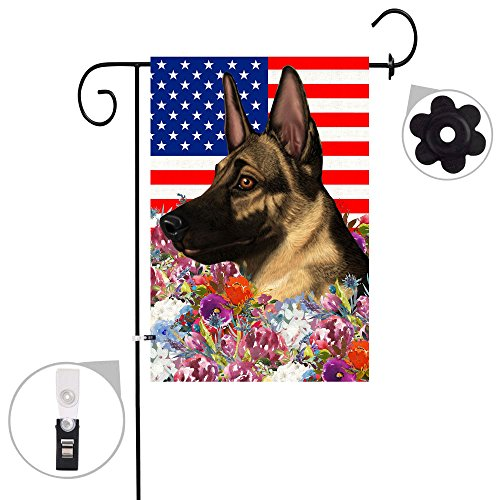 German Shepherd Garden Flag - 9