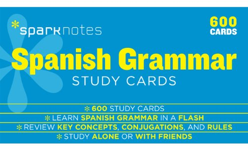 Spanish Grammar SparkNotes Study - Adult Note