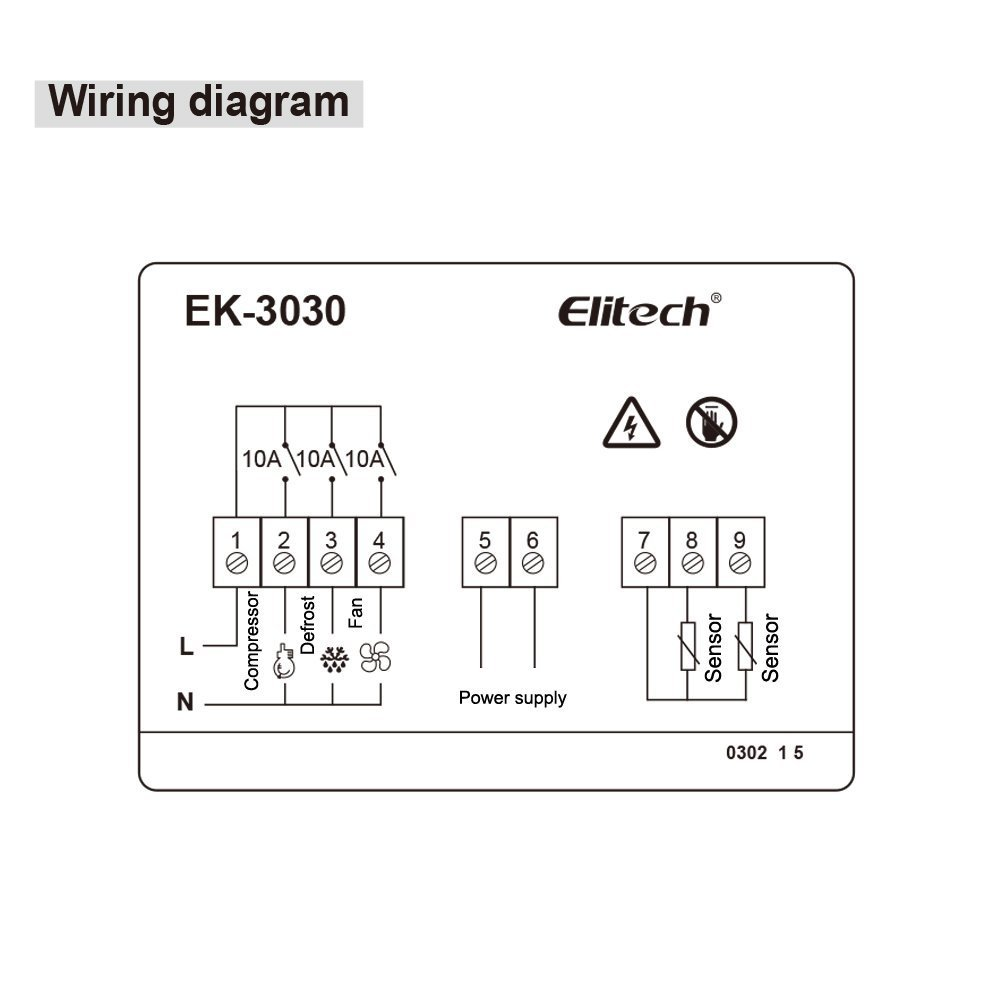 Elitech Temperature Controller Lowrance Hdi Wiring Diagrams