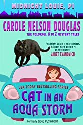 Cat in an Aqua Storm (Midnight Louie Mysteries Book 2)