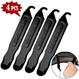 TraGoods Premium Hardened Plastic Bicycle Tire Lever Set, Easy Grip Bike Tire Levers, Best Tire Changing Tool, Snap Together for Storage, Set of 4