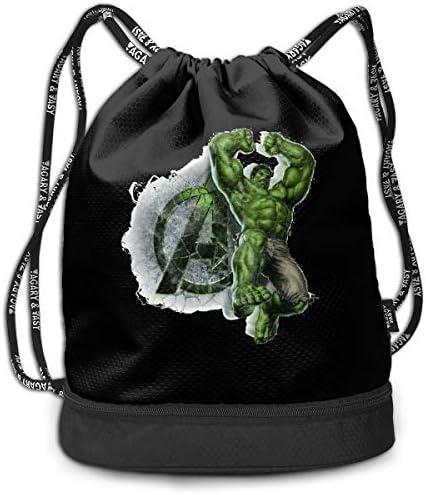 ハルク5 大容量 クファッション印刷 バックパッ男女兼用 バックパック小新鮮 旅行スポーツバッグ 防水スイミングバック学生バッグ 多機能 収納バックパッ