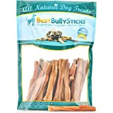 Best Bully Sticks 100% Natural 5-6 Inch Junior Beef Bladder Sticks (30 Pack) Dog Treats
