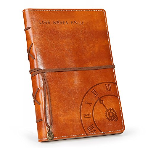 Vintage Refillable Leather Journal