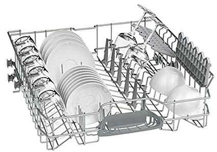 Bosch SMU46MS01E Serie 4 Silence Plus Geschirrsp/üler//60 cm//Unterbauger/ät//A++//262 kWh//Jahr 1820 L//jahr//Schutzprogramm//edelstahl