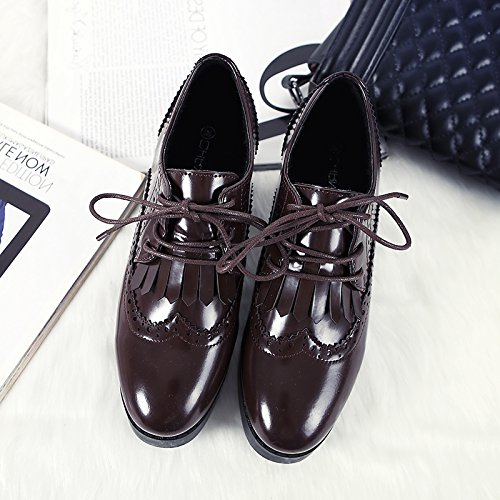 Singles Pintura Negros Su Mujer Hembra Zapatos Negros Pintura GAOLIM Zapatos De 88a0ef
