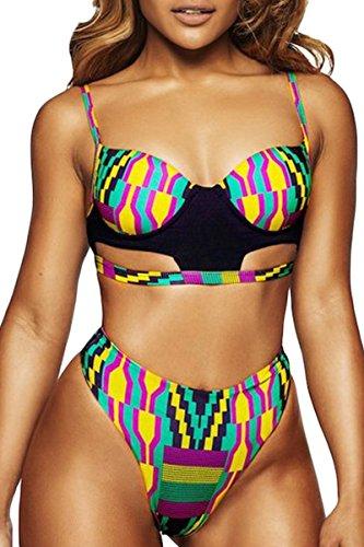 Sundray Womens African Printed Swimwear
