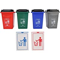 Garbage Can, DIY Classification Toy Education Toys Simulation Mini Garbage Sorting Toy Garbage Bin Model, for Kids