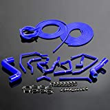 #9: For Impreza Wrx Gda/gga Sti Gdb/ggb Ej20 00-09 Silicone Radiator Hose+Vacuum Kit