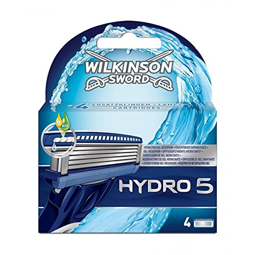 Price comparison product image Wilkinson Sword Hydro 5 Blades Refill (pack Of 4)