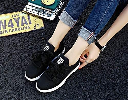 Leggera Ysfu Da Casual Zeppe Fitness Ammortizzante Scarpe Sneakers Outdoor Sportive Traspirante Donna Piattaforma Sneaker 66TnSqr7
