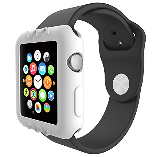 For Apple Watch 38mm Protective Case, 10x Replacement Silicone Soft Case Cover for Apple Watch Series 3 2 1 Smartwatch, 10pcs by E ECSEM (Image #2)