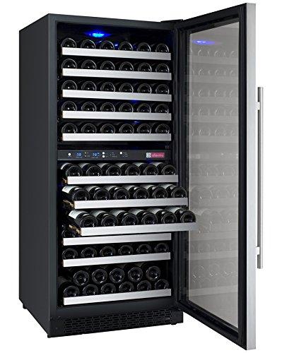 FlexCount Series 121 Bottle Dual Zone Freestanding Wine Refrigerator by Allavino (Image #3)