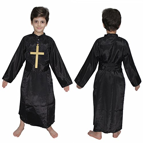 Priest fancy dress for kids,Catholic Costume for Annual function/Theme -