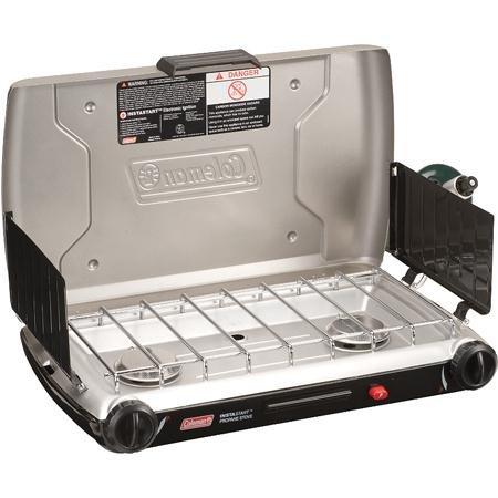 Coleman 2 Burner Dual Fuel Compact Liquid Fuel Stove Review