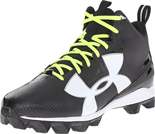 Under Armour Mens UA Crusher RM Football Cleats 10 Black