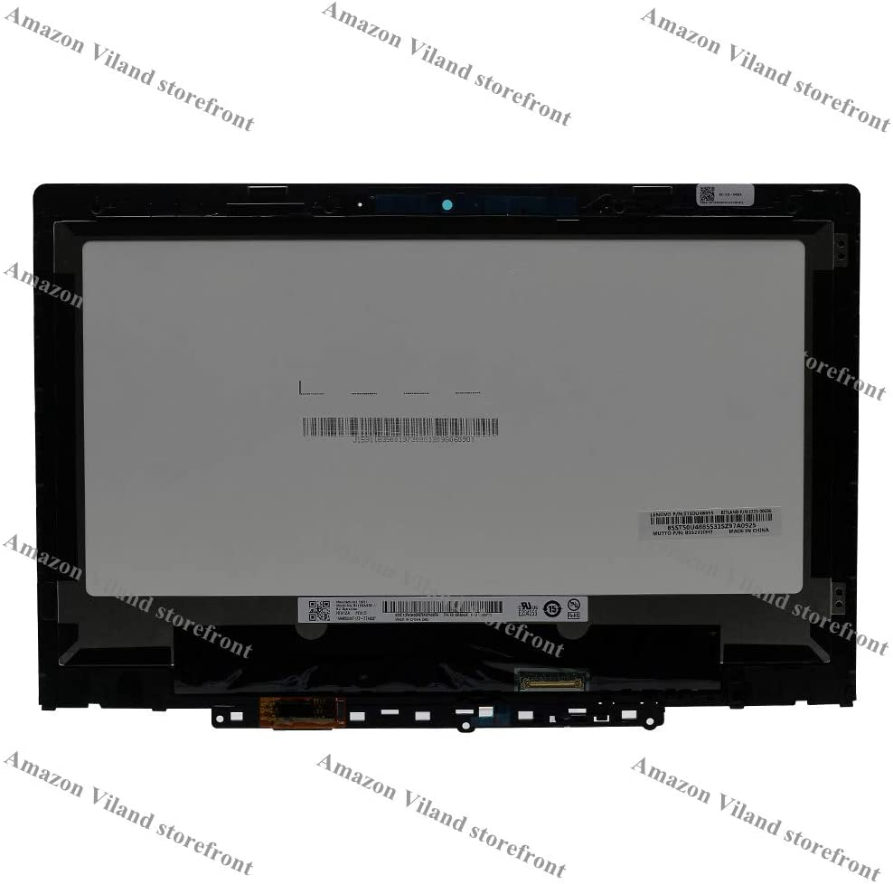Replacement 11.6 HD 1366x768 LCD LED Display Touch Screen Digitizer Bezel Assembly for Lenovo 300e Chromebook 2nd Gen 81MB