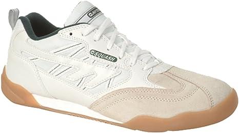 Nuevo Hi-Tec Squash Zapatillas Deportivas Unisex Zapatos De Interior De La Cancha Talla 3-12 - Blanco, EU 43/UK 9: Amazon.es: Deportes y aire libre
