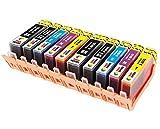 TONER EXPERTE 10 XL (2 SETS) Compatible Ink Cartridges Replacement for HP 364XL Photosmart 7510 7520 B8550 B8553 C5380 C5383 C6380 C6383 D5460 D5463 D7560 C309a C310a C310c C510a | High Capacity
