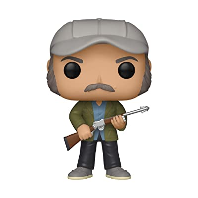 Funko Pop! Movies: Jaws - Quint, Multicolor: Toys & Games