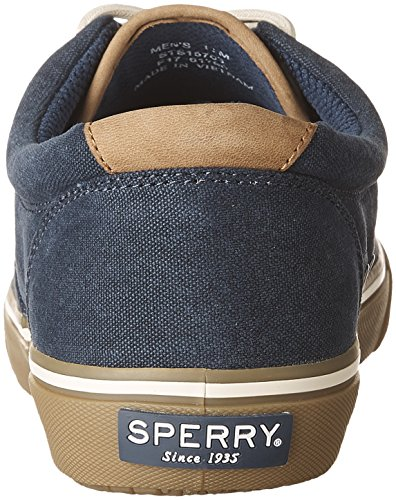 Sperry Top-Sider Herren Striper LL CVO Fashion Sneaker Marine / Tan