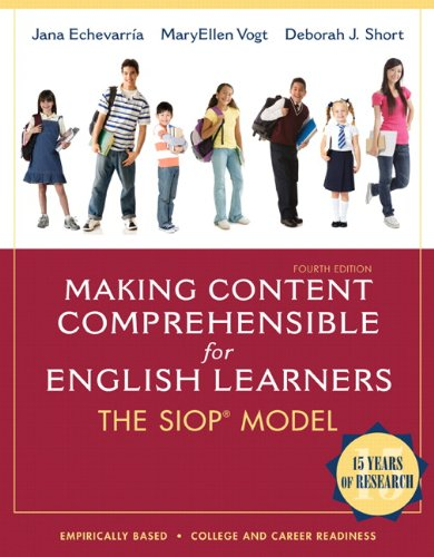 Making Content Comprehensible for English Learners: The SIOP Model (4th Edition) by Pearson
