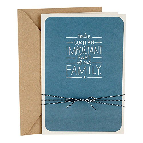 Hallmark Father's Day Greeting Card Appropriate for Stepdad (Important Part of Our Family)