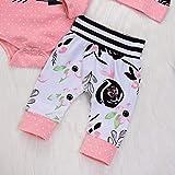SRYSHKR 4PCS Toddler Baby Letter Print