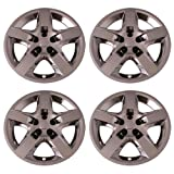 hubcaps pontiac g6 - Set of 4 Chrome 17 Inch Chevy Malibu & Pontiac G6 Replacement Bolt On Retention System Hubcaps : IWC435/17C