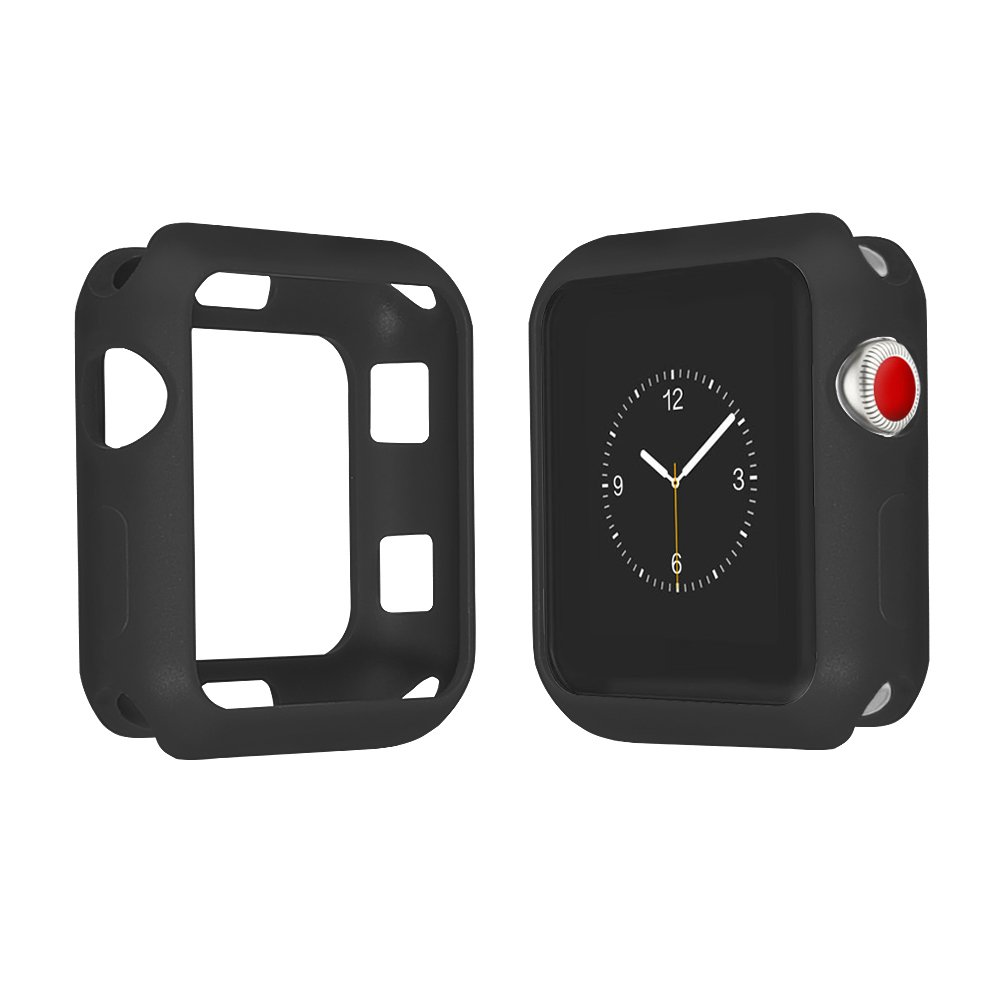 Case for Apple Watch 42 mm、QinFeng耐震and shatter-resistantソフトスリムTpu保護カバー柔軟な傷防止バンパーfor Apple Watchシリーズ1,2,3 B07D6M5B3T
