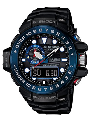 Casio G Shock GWN1000B 1B Black Quartz