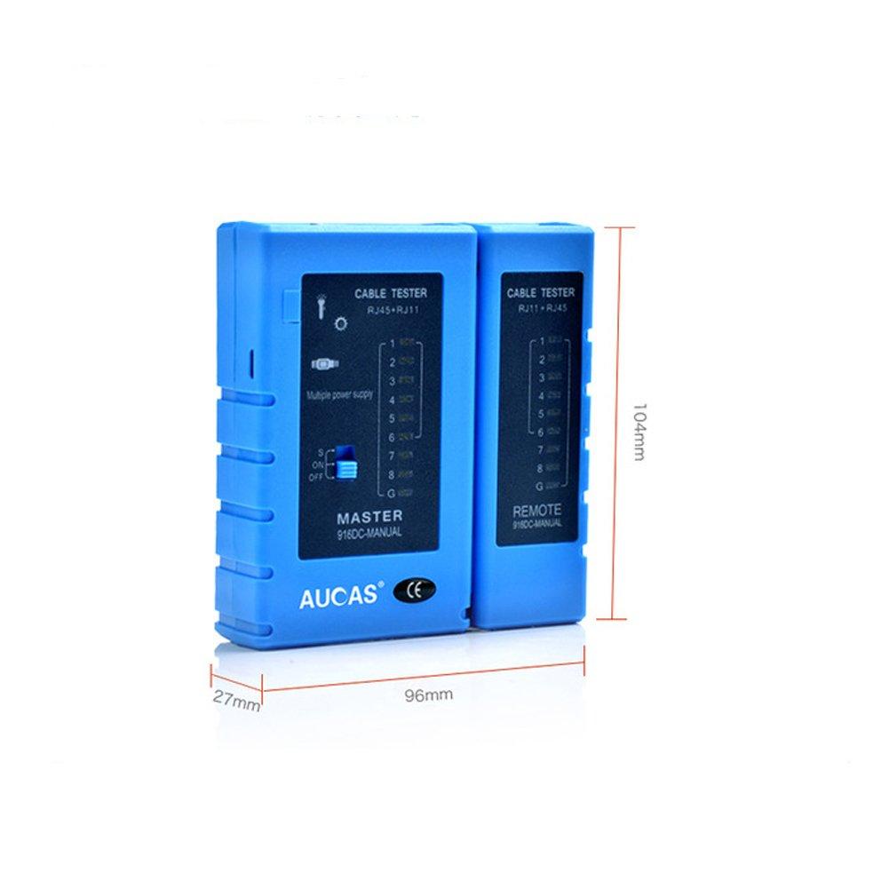 Network Cable Tester rj45 RJ11 Network LAN Ethernet RJ45 Cable Tester tool ACSPT12