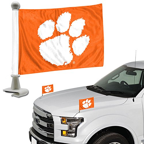 ProMark NCAA Clemson Tigers Flag Set 2Piece Ambassador Styleclemson Tigers Flag Set 2Piece Ambassador Style, Team Color, One Size