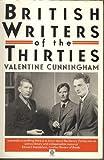 British Writers of the Thirties 9780192826558